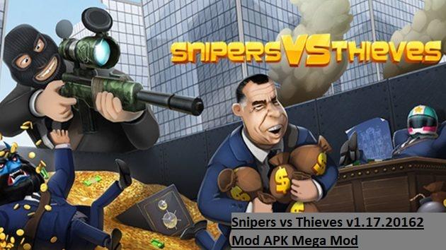 Snipers vs Thieves v1.17.20162 Mod APK Mega Mod