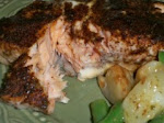BBQ Roasted Salmon
