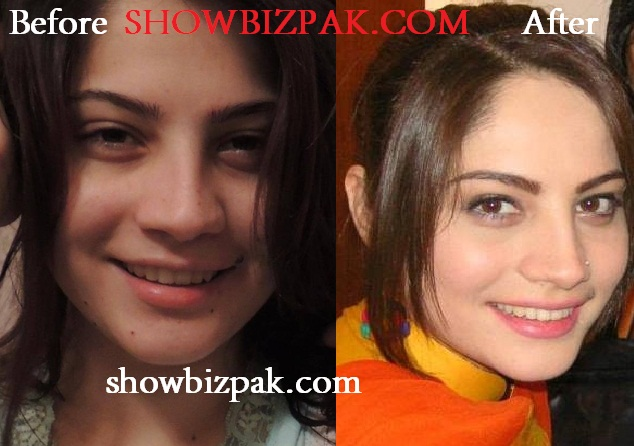 Neelam Muneer without Makeup
