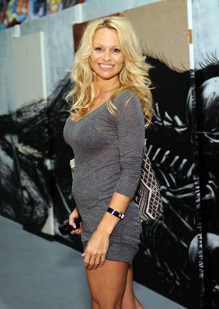 Hollywood Stars Showbiz: Pamela Anderson Blonde Playboy Model