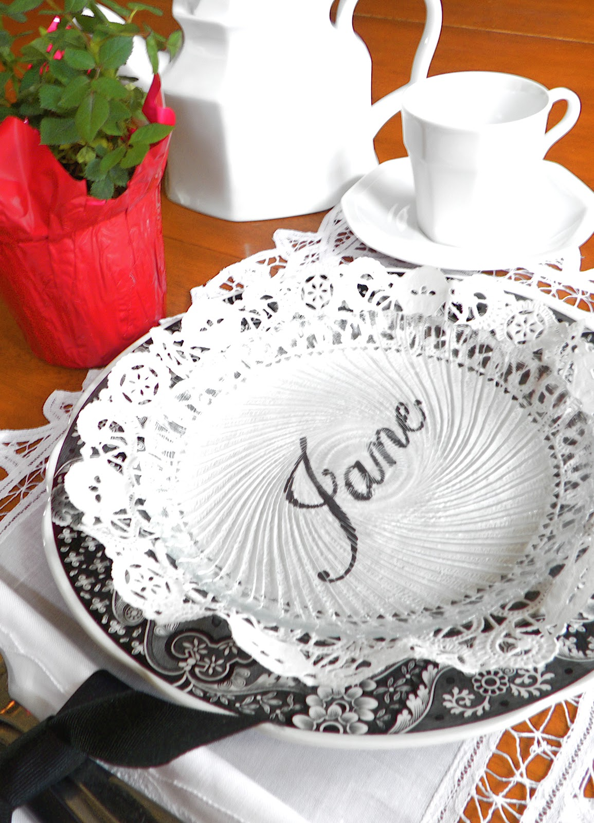 Tuesday February 21 2012  sc 1 st  Be Book Bound & Be Book Bound: Jane Austen Month Day 23: Place Cards Fit for Pemberley