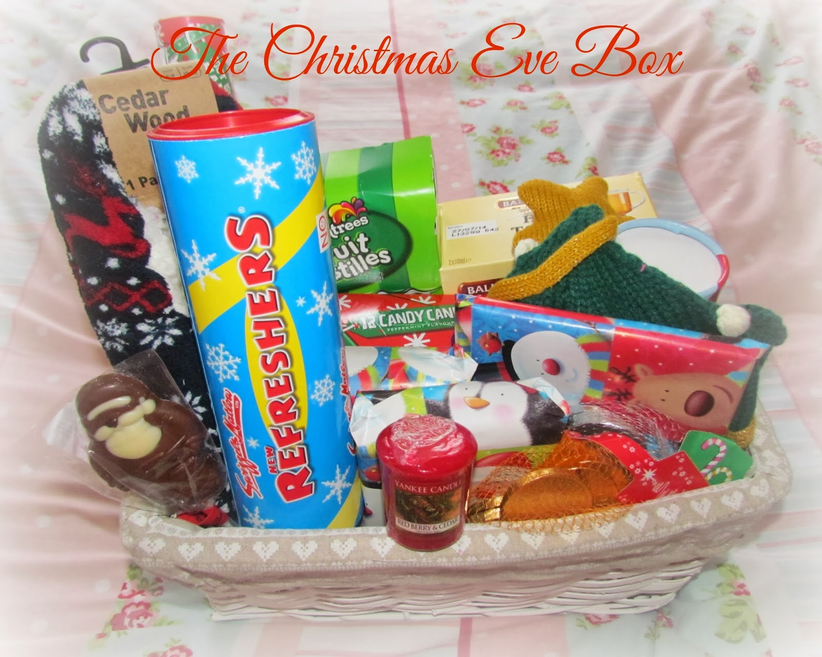 christmas eve box ideas for 9 month old