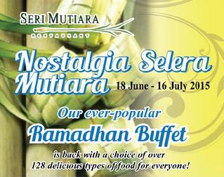 Ramadan Buffet Mutiara Hotel, Johor Bahru