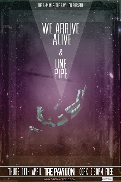 The G-Man Presents We Arrive Alive & Une Pipe