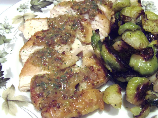Chicken with Mustard Dill Sauce Recipe
