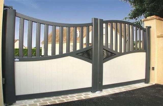 gambar pagar modern