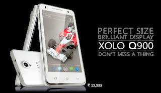 XOLO Q900 is now launched in India for Rs. 12,999