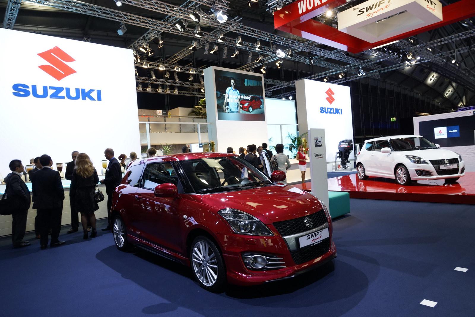 Frankfurt 2011 New Suzuki Swift Sport