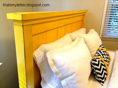 Farmhouse headboard using plan #23 farmhouse bed on page 136 in Ana ...