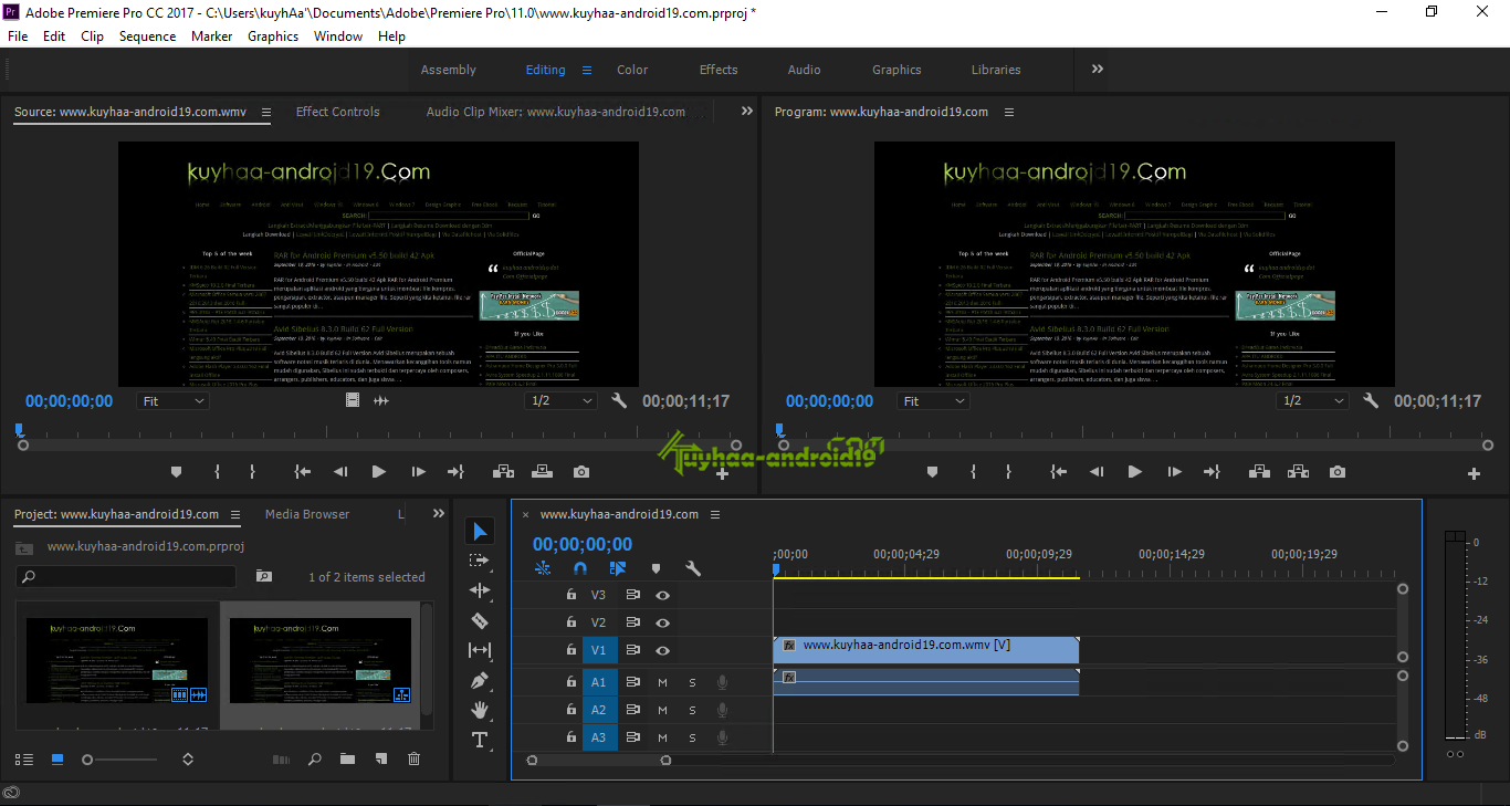 Adobe Premiere Pro CC kuyhaa