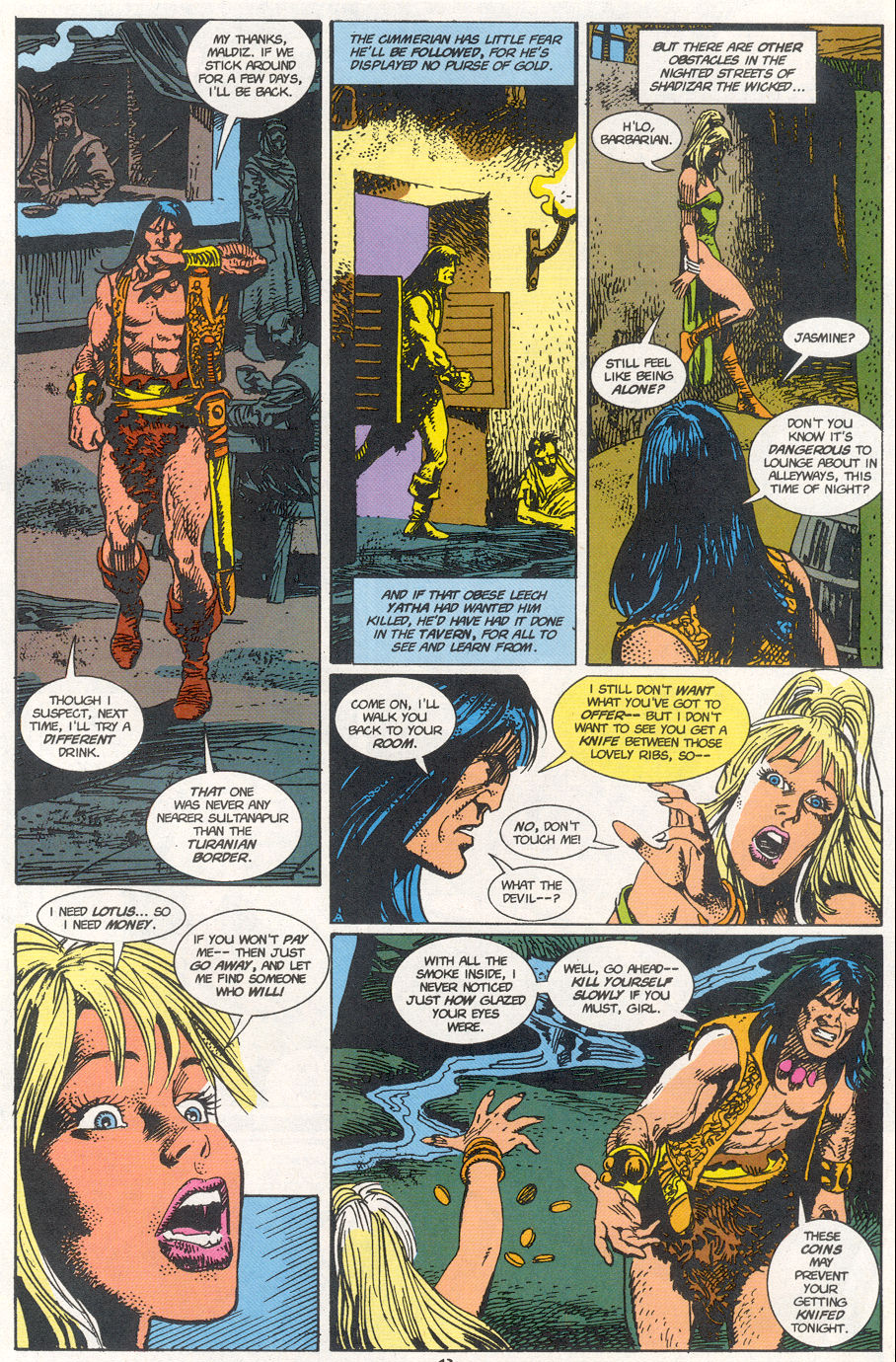 Conan the Barbarian (1970) Issue #273 #285 - English 10