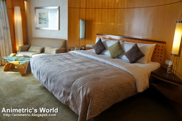Makati Shangrila Hotel Deluxe Room