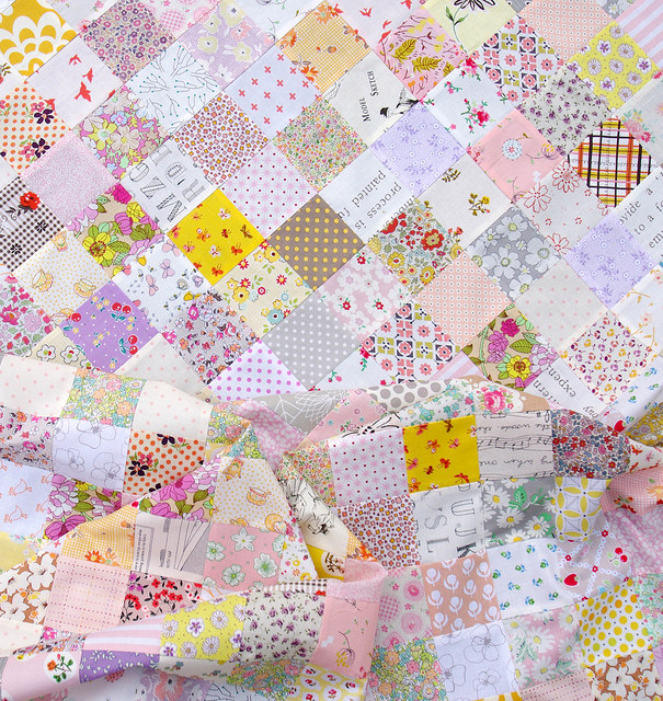 The Color Purple ~ A Quilt in Progress | Red Pepper Quilts 2015