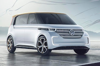 Volkswagen Budd-e Concept (2016) Front Side