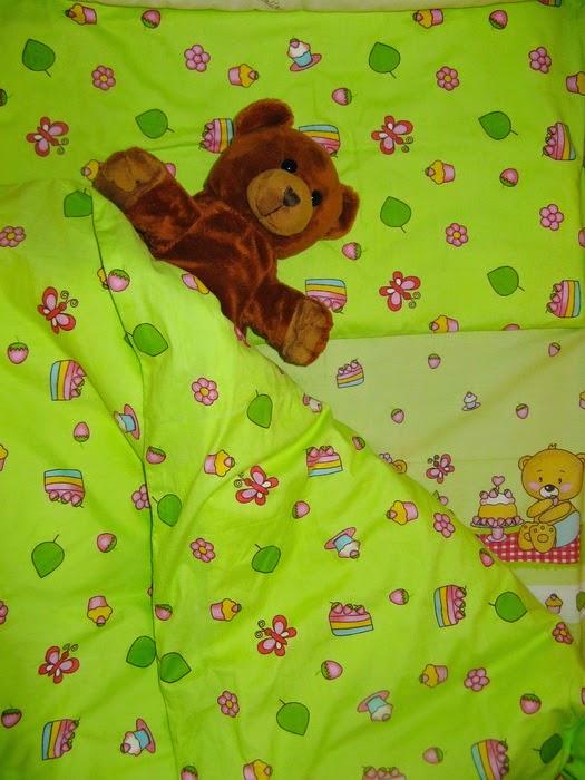 постельное белье для новорожденного своими руками
