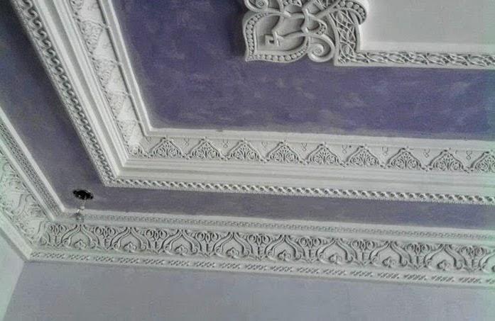 D coration salon marocain d coration de faux plafond for Type de faux plafond