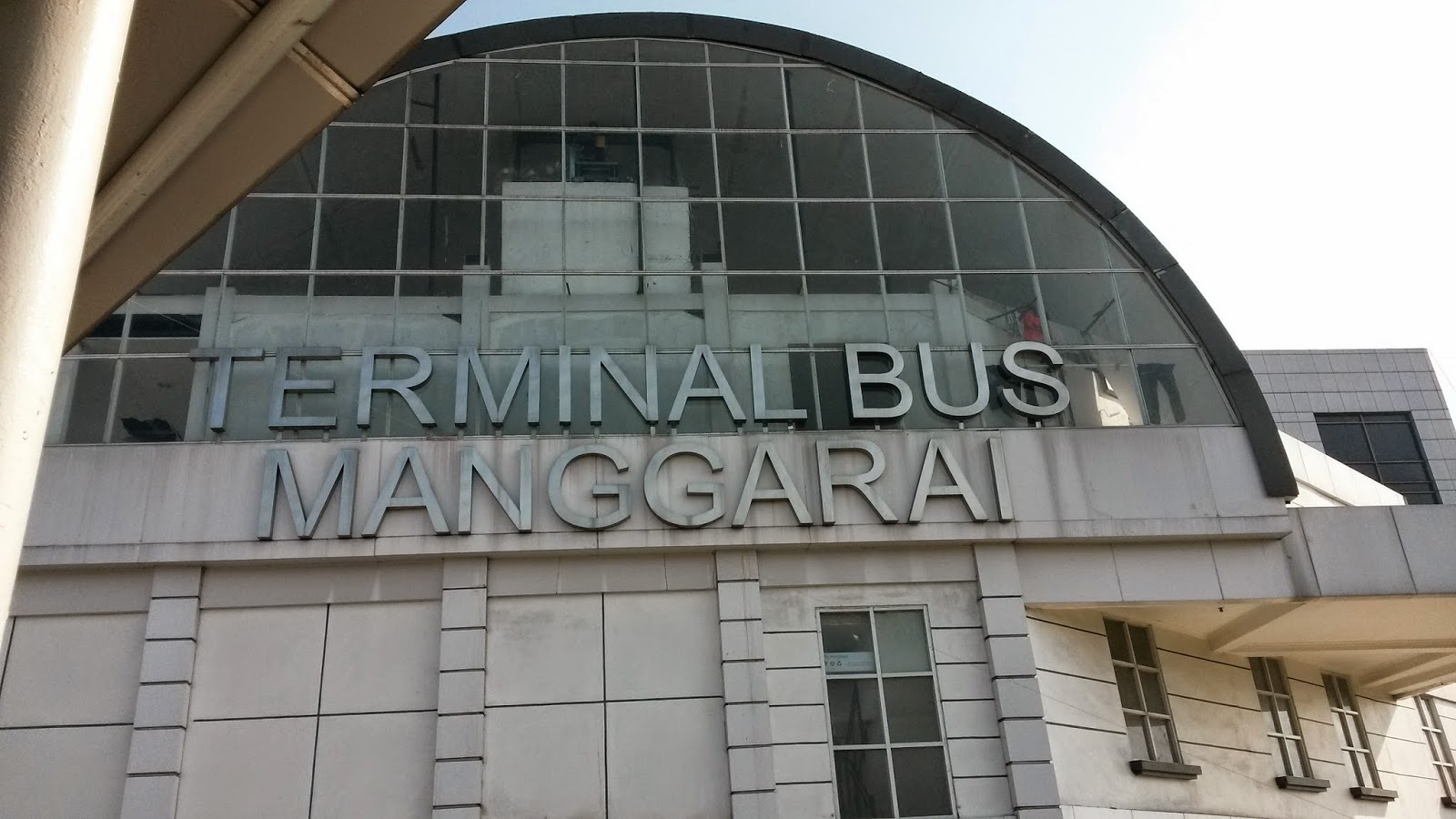 Survey Lokasi : Halte Bus Manggarai