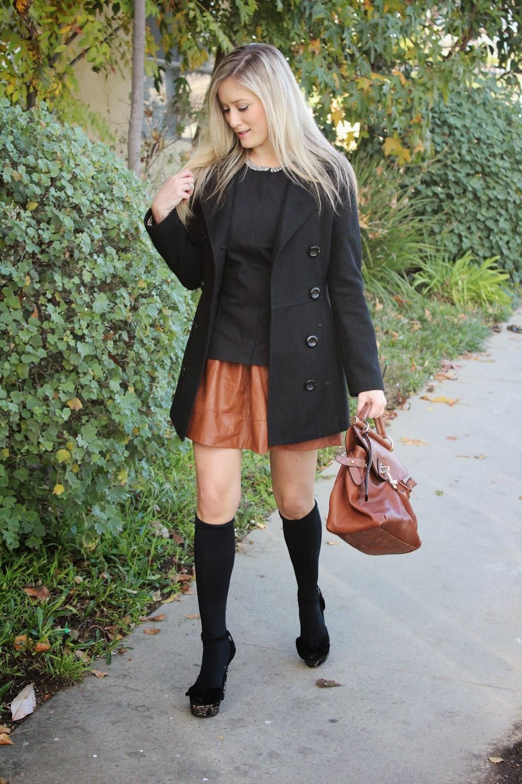 Styling Knee High Socks Love Affair With Fashion