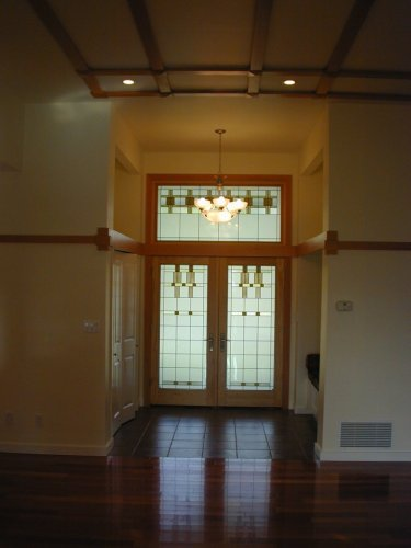Sgo Victoria Stained Glass Overlay Double Doors Stained Glass
