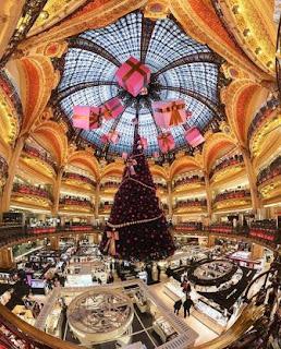 Galaries Lafayette, Paris, shopping