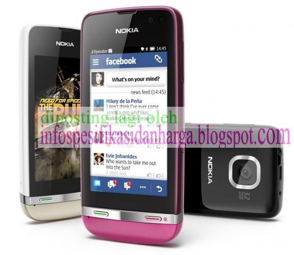 Spesifikasi Nokia Asha 311 Full Touchscreen Terbaru 2012
