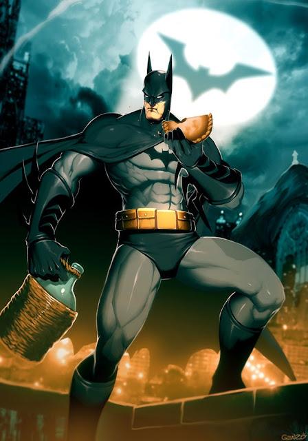 batman, Genzoman, anime wallpapers