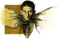 Kafka con cuerpo de mosca