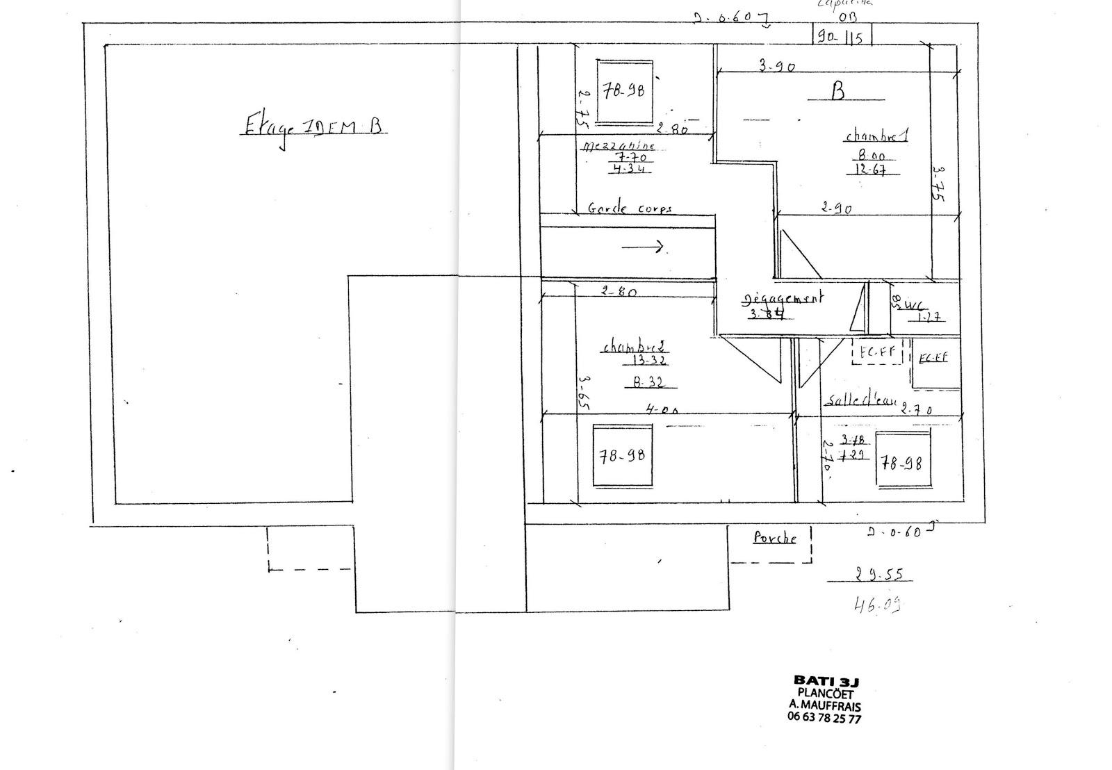 Plan maison pour permis de construire for Demande de permis de construire maison individuelle