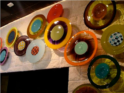 Beautiful glass wall hangings #2