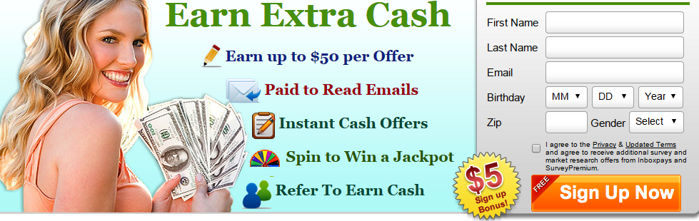 InboxPays various offers