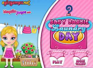 Baby Barbie a roupa suja