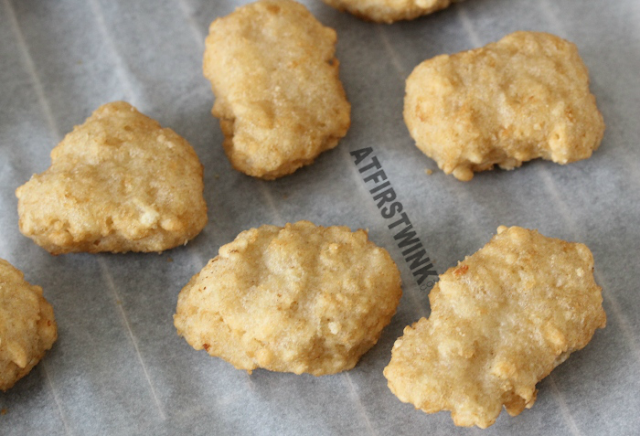 Iglo kibbeling in bevroren toestand | frozen pieces of fried fish