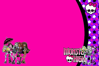 Monster High Free Printable Party Invitations – Free Monster High Party Invitations