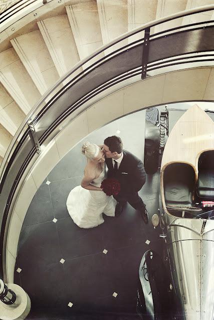 the westin melbourne wedding staircase
