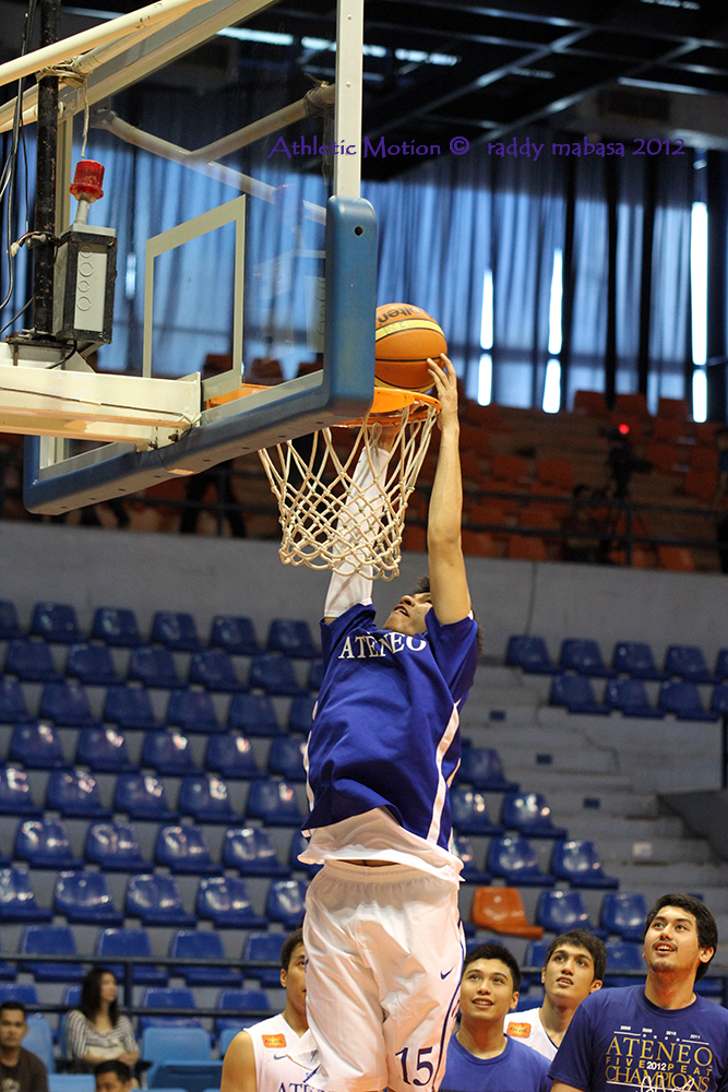 Slaughter Had A Dunkfest Salva Regained His Shooting Touch Ravena Was Everywhere Everyone Contributed In Many Different Ways Absent Today Were Poy Erram