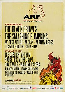 Nuevas bandas al Azkena Rock Festival. Reparto del cartel por días