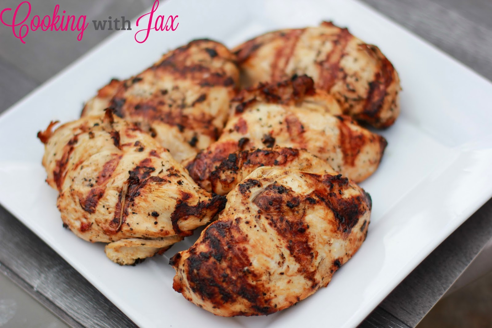 Cooking with Jax: Grilled Italian Chicken with Renée\'s Gourmet Salad ...