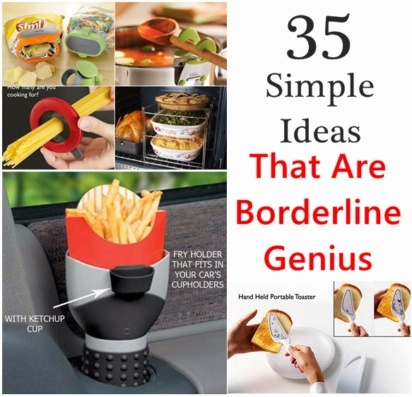 35 Simple Ideas That Are Borderline Genius