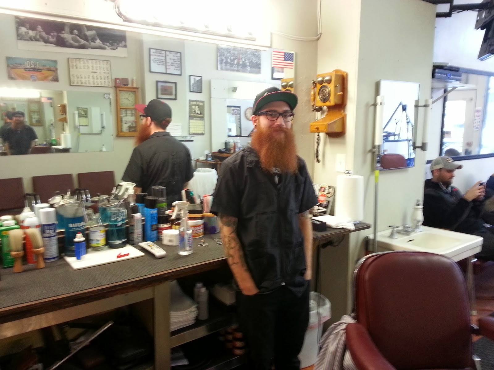 Barber Realty : Barber Justin Albrecht (All photos Eric Rojas, Real Estate Broker)