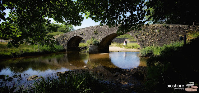 Two Bridges hotel Dartmoor wedding Picshore Photography