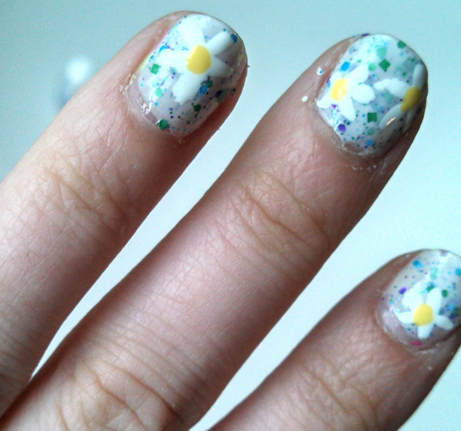 Playful Polishes June Nail Art Challenge Ocean Nails: Nail Polish? Nail Polish!: June Nail Art Challenge