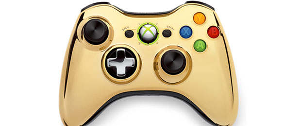 Gold Chrome Xbox 360 Controller Unveiled