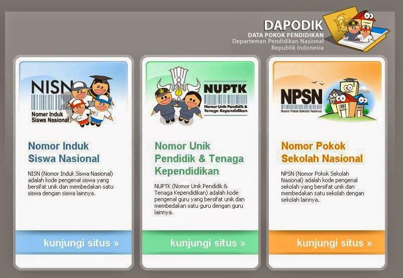 Kunjungi http://dapodik.org