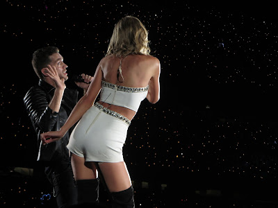 Taylor Swift and Andy Grammar 1989 Soldier Field Chicago