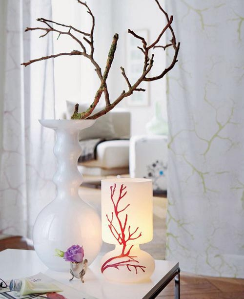 Tree branches ideas to decorate your interior allthingabout