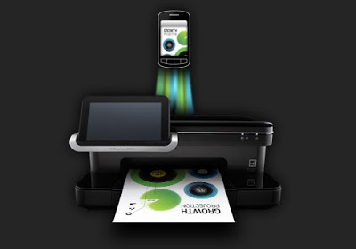 HP ePrint printer application