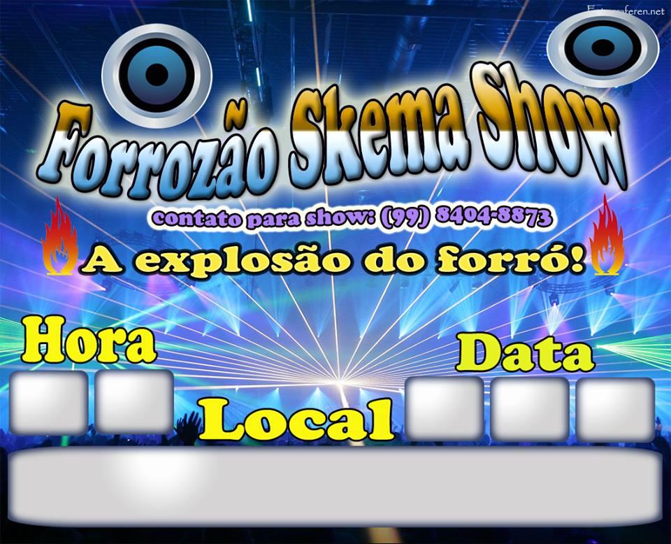 FORROZÃO SKEMA SHOW/ PARNARAMA-MA