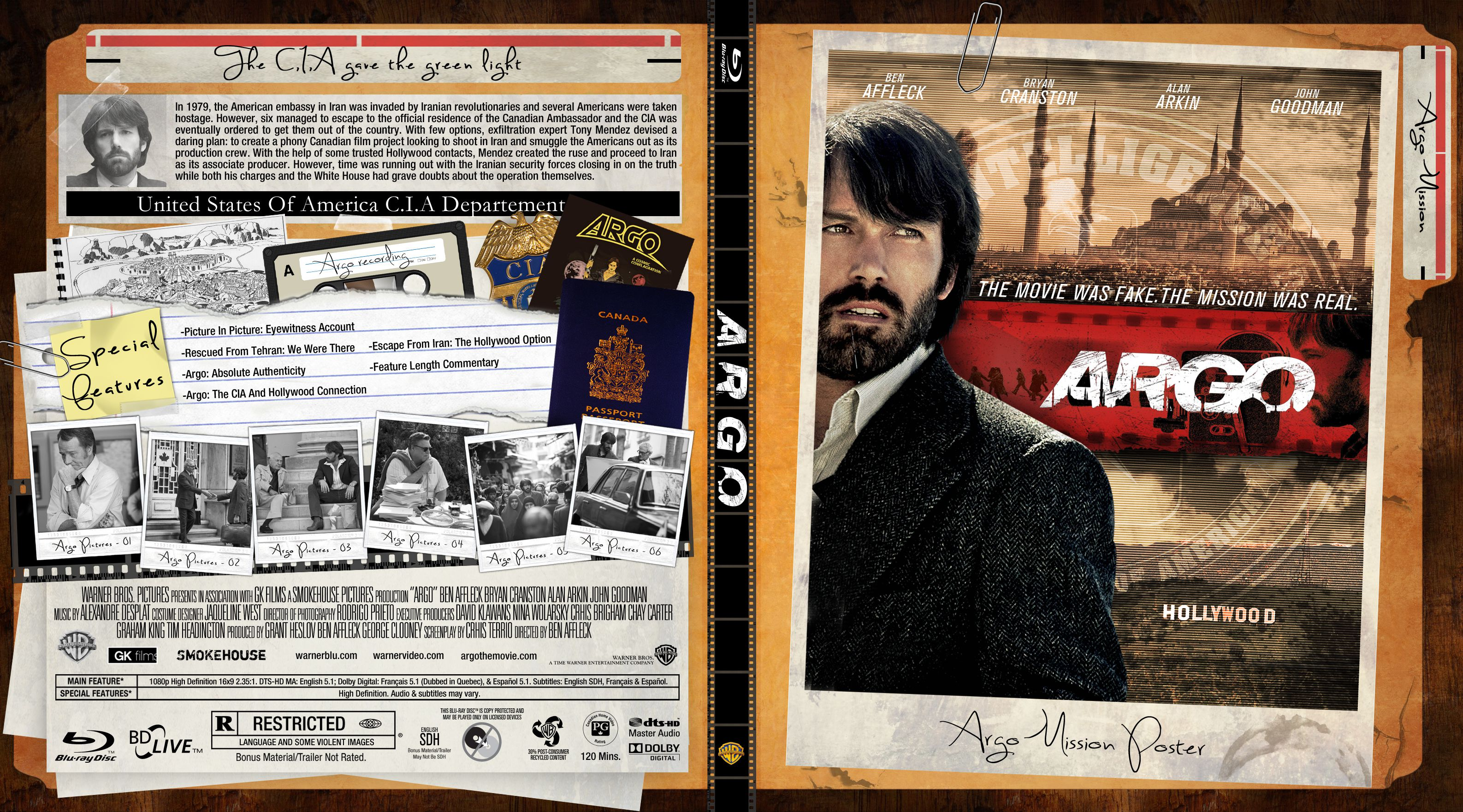 Capa Bluray Argo