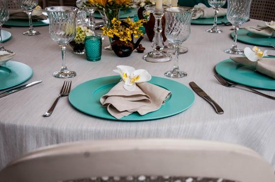 fotos de decoracao de casamento azul e amarelo : fotos de decoracao de casamento azul e amarelo: : Casamento: Decoração com Azul Tiffany, Branco e Amarelo Ouro