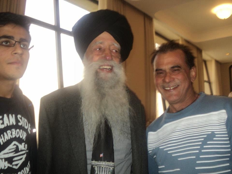 fauja singh with dharam veer